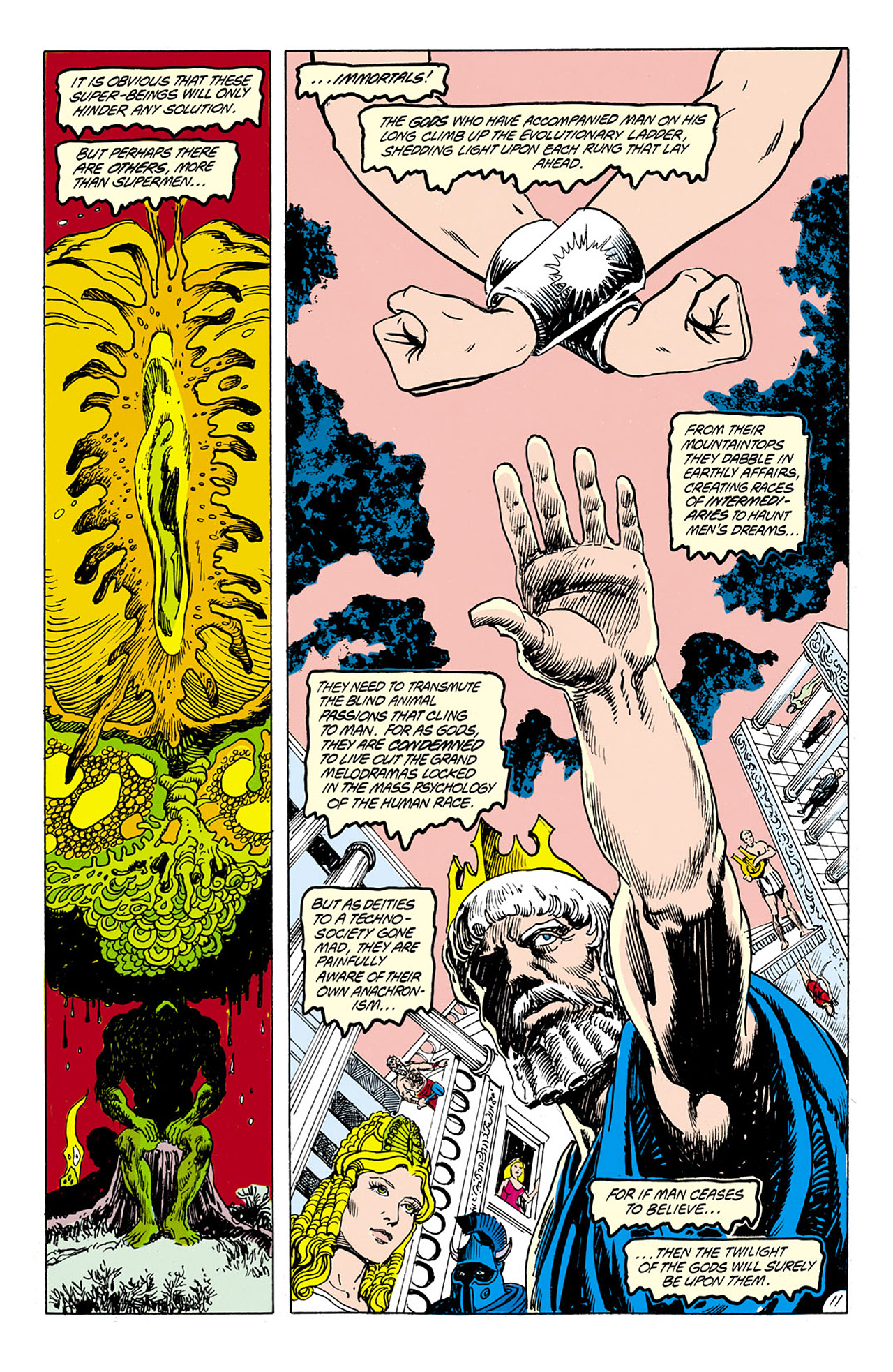 Swamp Thing (1982) Issue #75 #83 - English 12