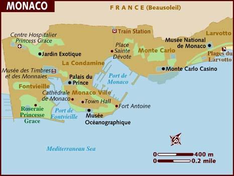 Monaco Facts In Hindi