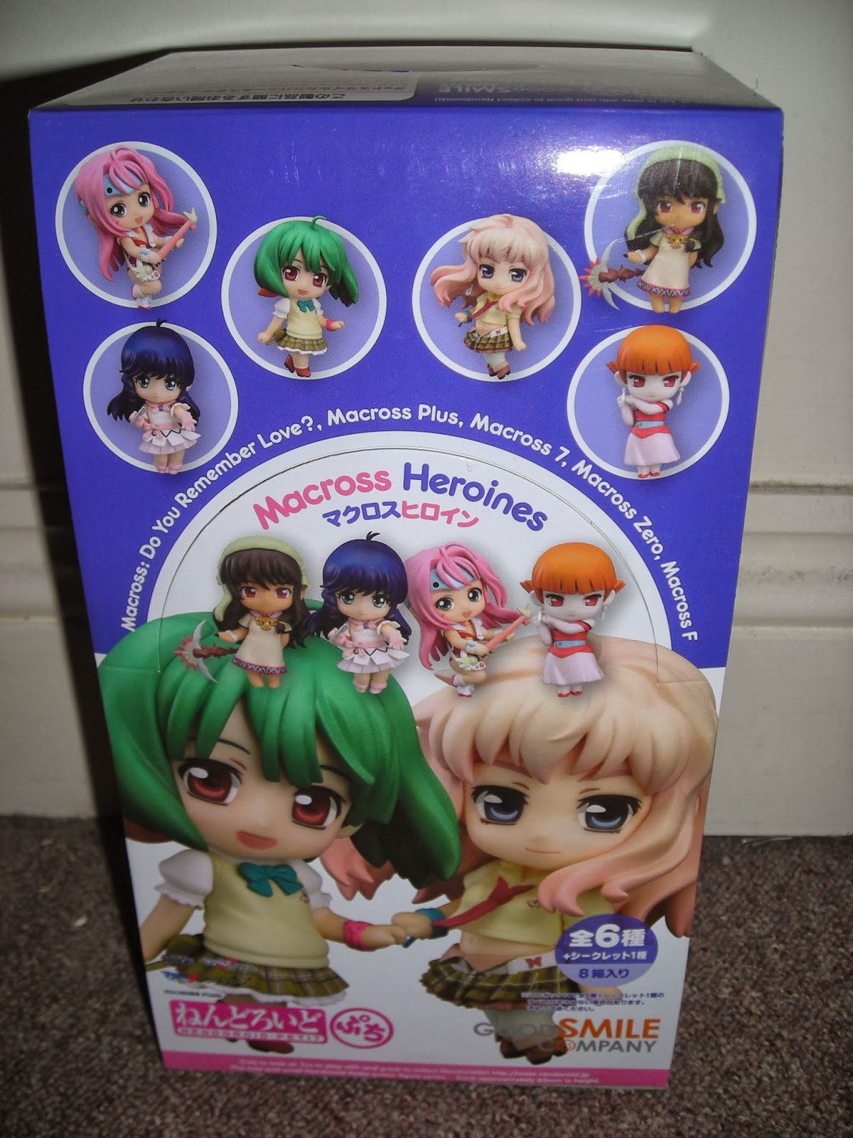 My Shiny Toy Robots: Toybox REVIEW: Nendoroid Petite Macross