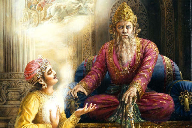 Dhritarashtra and Pandu