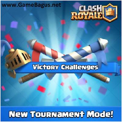 apa saja 3 Mode turnamen baru dalam Clash Royale update September 2016
