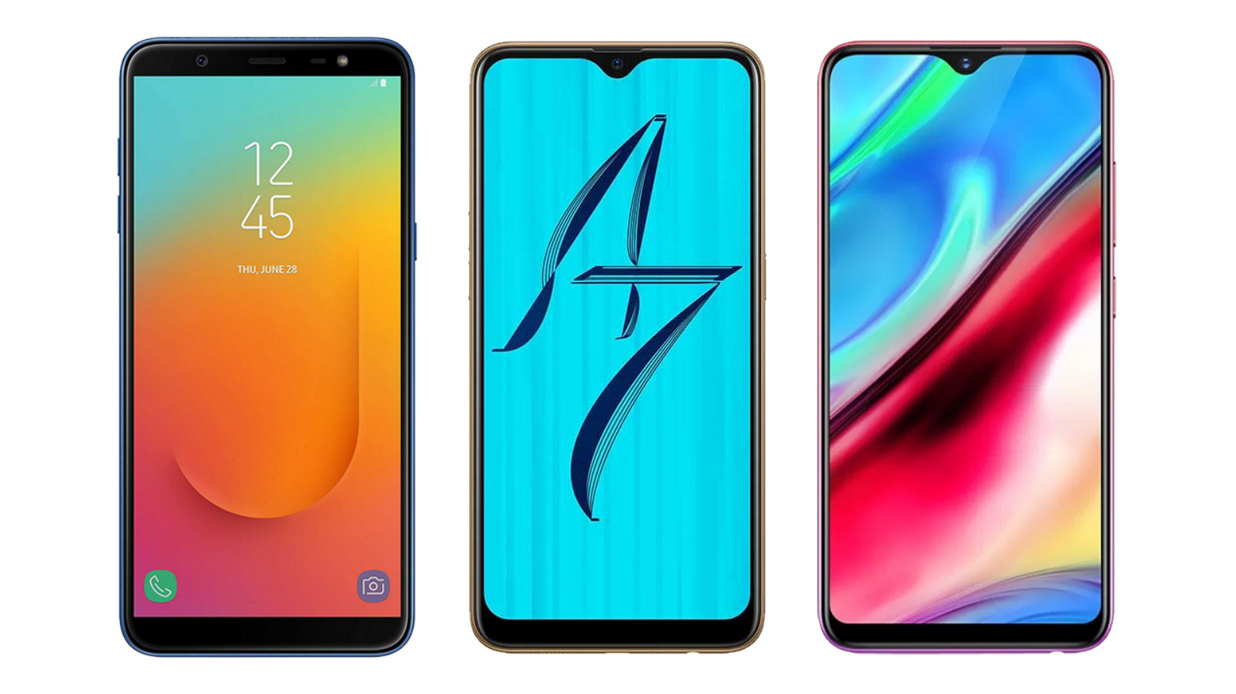 Samsung Galaxy J8 2018 vs OPPO A7 vs Vivo Y95