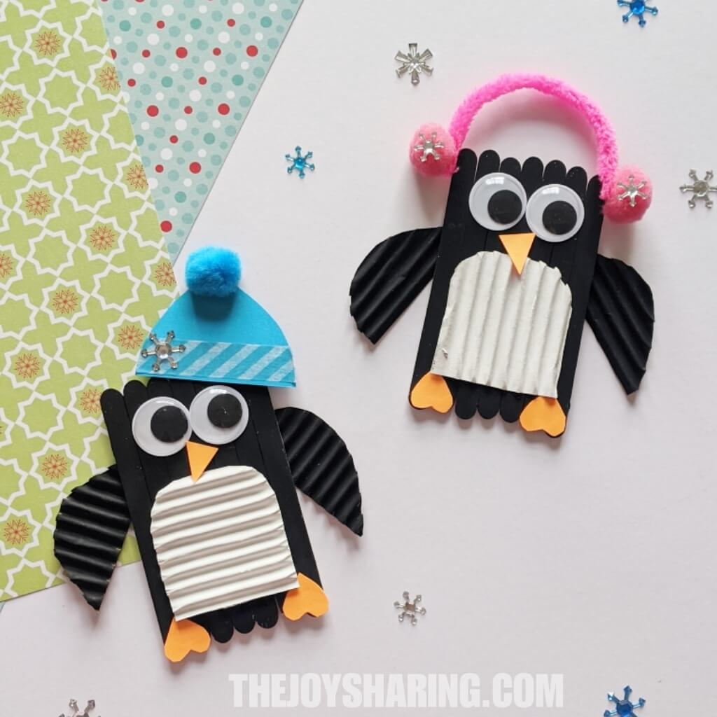 Easy Penguin Craft for Preschoolers