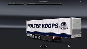 Schmitz Nordfrost, Gesuko and Wolter standalone trailers