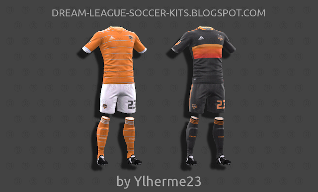 huge selection of 1ce2e a55d9 Houston Dynamo 2018 - Dream League Soccer Kits