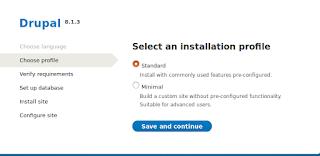 memilih standar instalasi