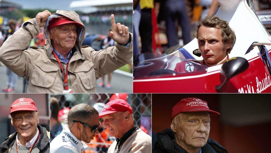 Le condizioni di salute di Niki Lauda, ex campione Ferrari.