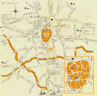 Plano de Saint-Remy de Provence.