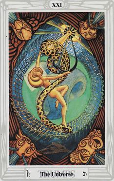 Magical Pathworking: Thoth Tarot trump The Universe XXI