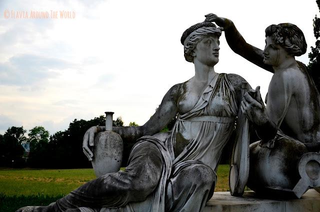 Estatuas del Rosenstein Schloss