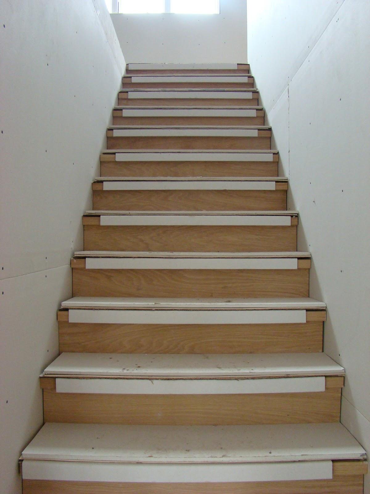 Building Walnut Farm: Stairs