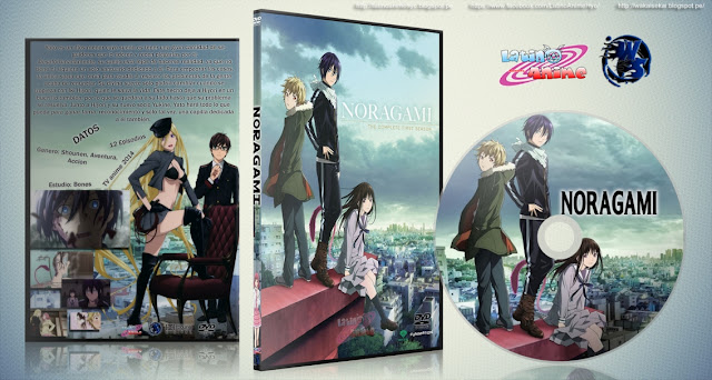 Noragami | Cover DVD |