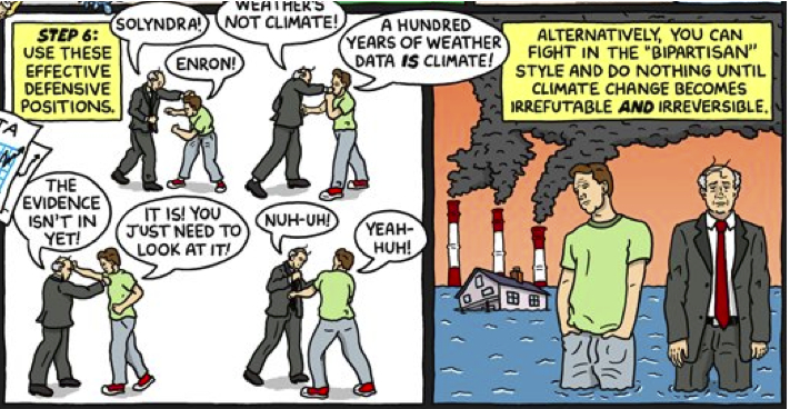 Something is. comic strip about global warming opinion you
