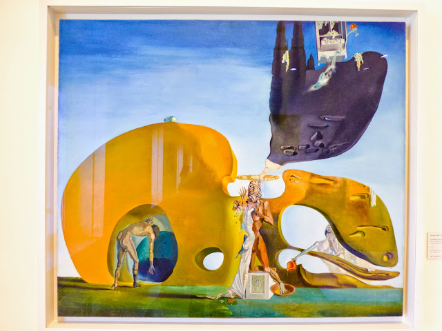 "S. Dali ""Birth of Liquid desires"""