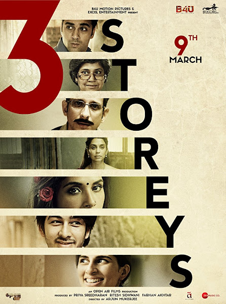 Poster of 3 Storeys (2018) Full Movie Hindi 480p pDVDRip 700mb Download