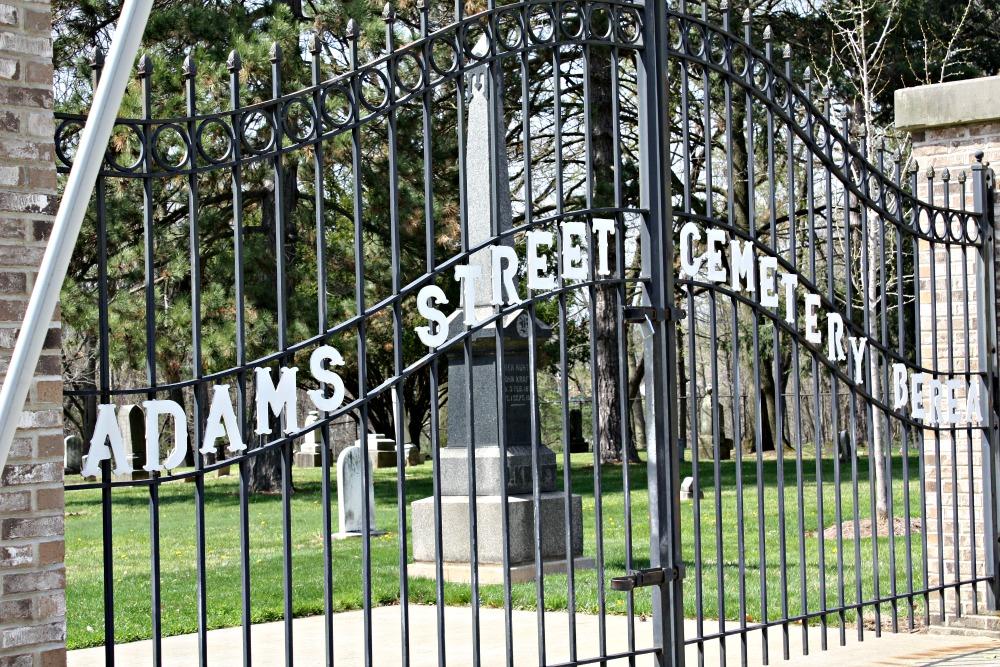 Adams Street Cemetery Berea Ohio