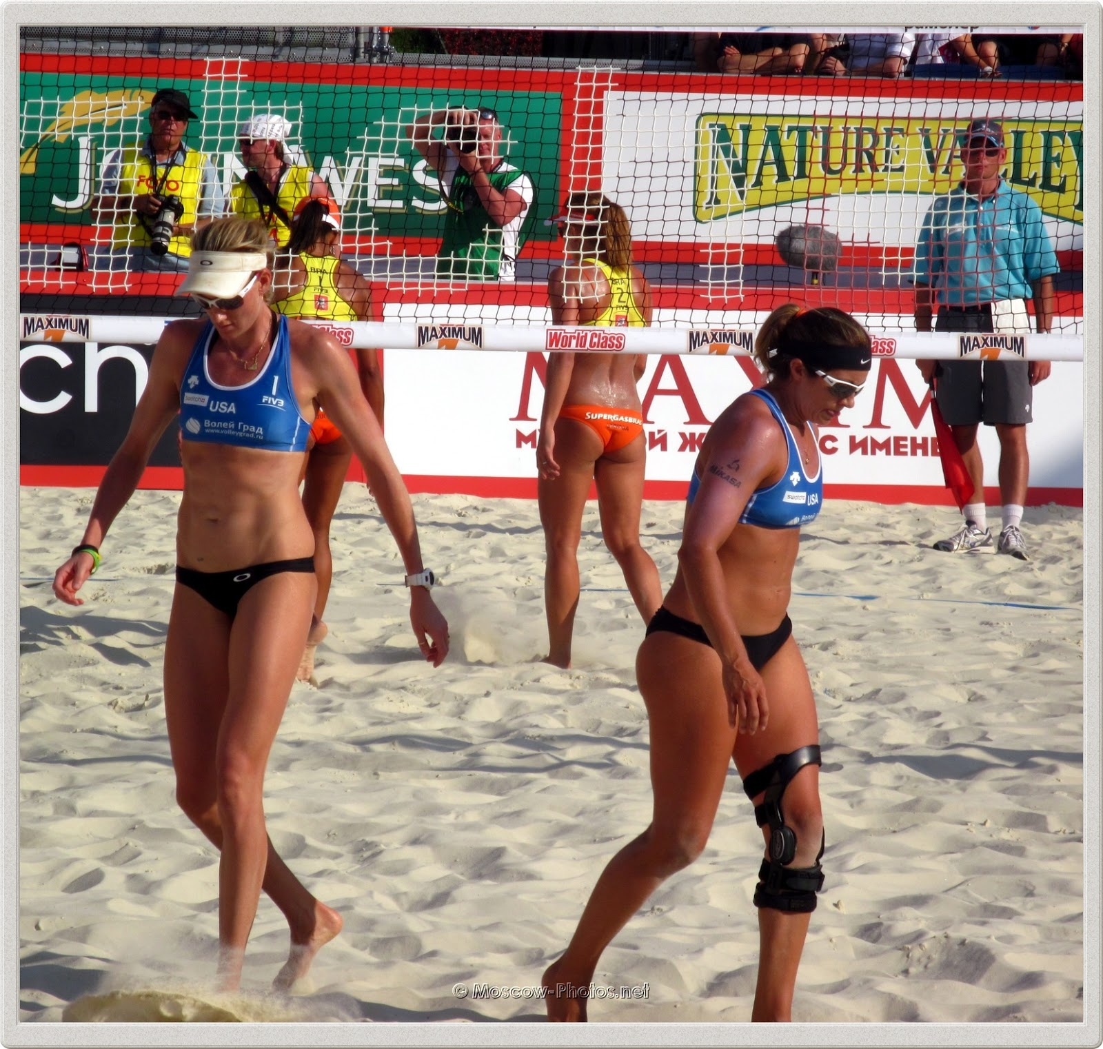 Kerri Walsh & Misty May-Treanor at Beach Volleyball Swatch World Tour