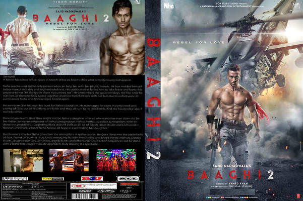 BAAGHI 2 – (2018) UNTOUCHED HDTV DD 2.1 AUDIO – 700MB