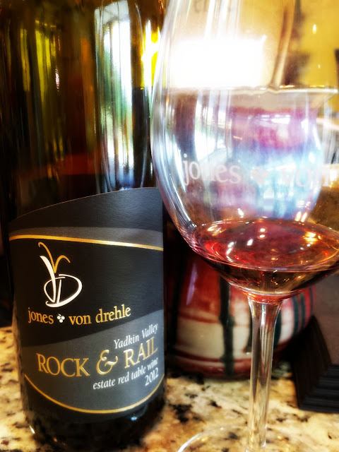 Rock and Rail wine from Jones von drehle in Surry County.
