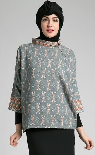 Model Baju Muslim Kebaya Untuk Ibu Hamil