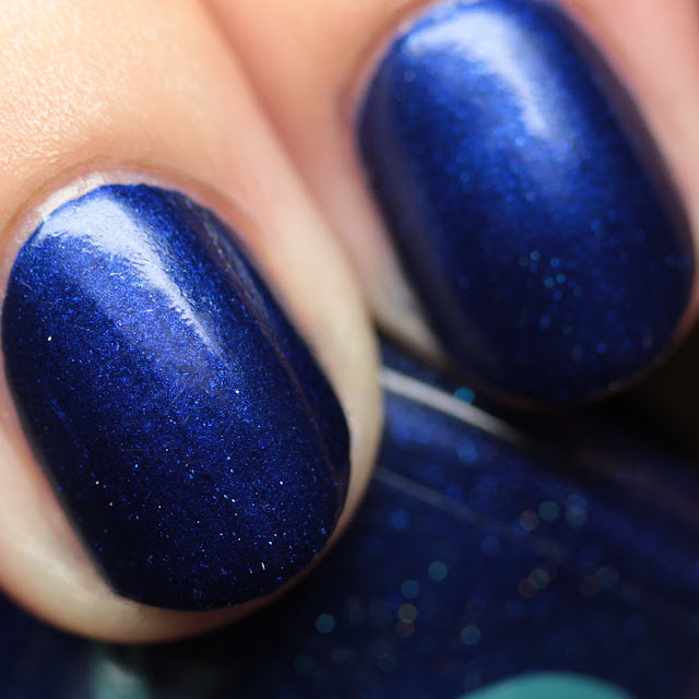 Bluebird Lacquer Cloudy with a Chance of Glowers