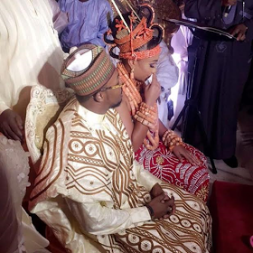 Traditional wedding of Orobosa Igbinedion and Umar Mantu