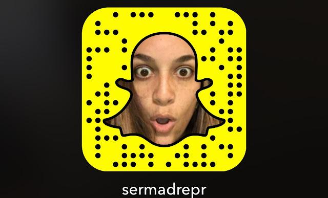 Blog maternidad Snapchat