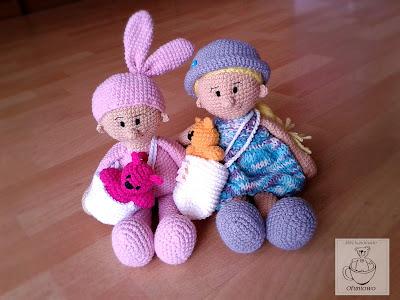 Mimi Doll and Mimi Doll Bunny - Ofuniowo