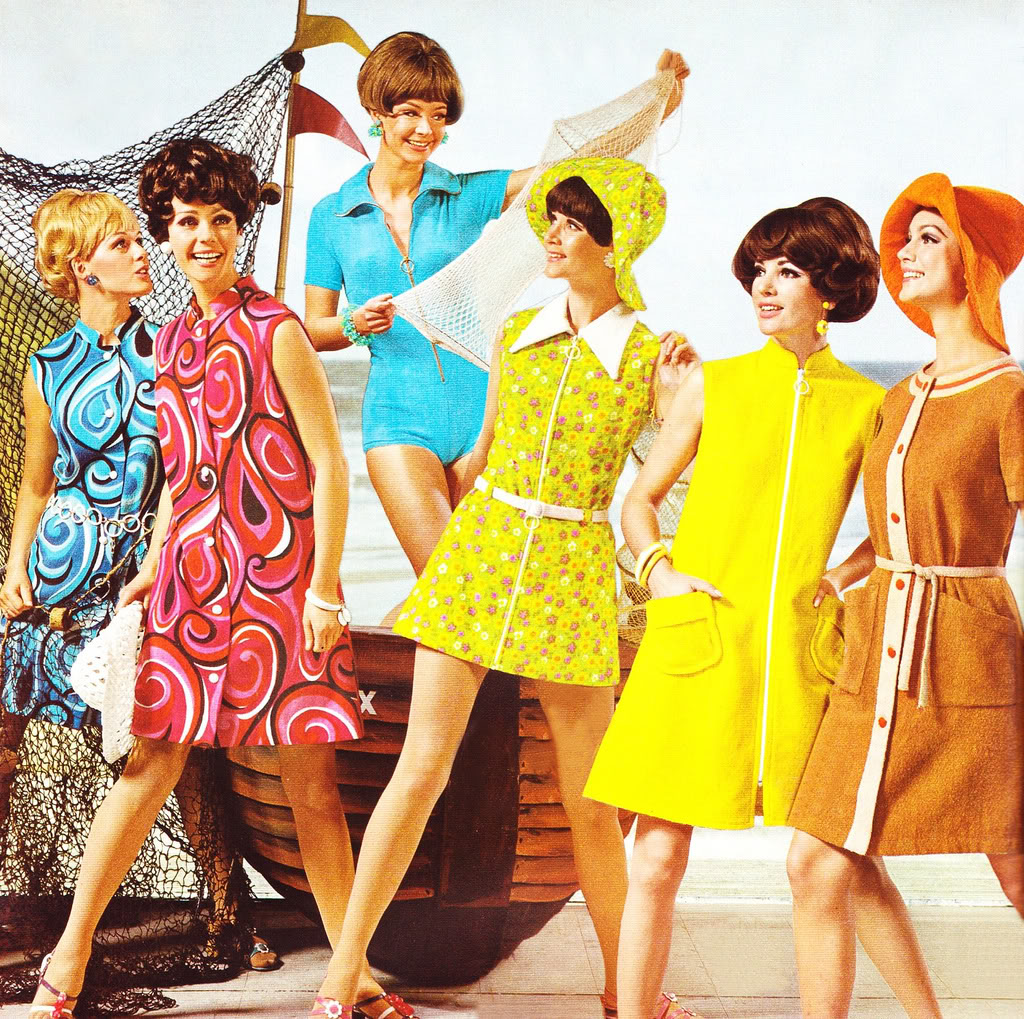 Best 1960s Fashion Trends and Outfits - 60s Fashion and Style |From The 60s Clothing Styles