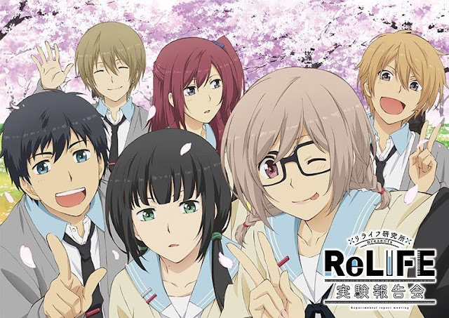 Download OST Opening Ending Anime ReLIFE Full Version