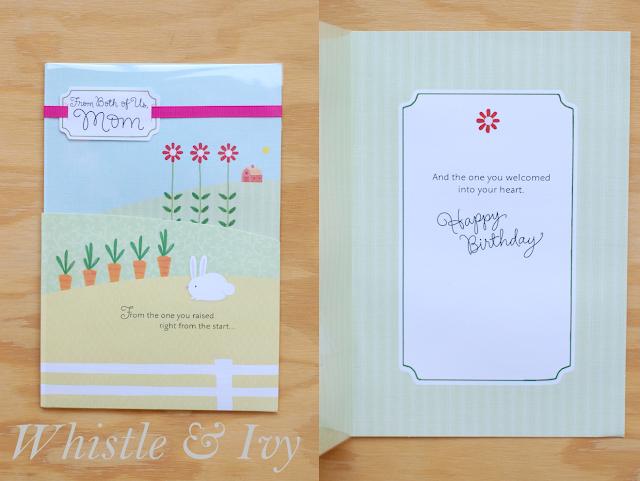Hallmark mom  mother-in-law birthday greeting card