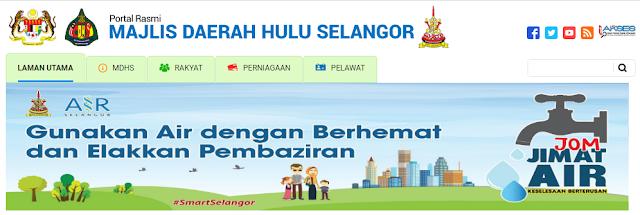 Rasmi - Jawatan Kosong (MDHS) Majlis Daerah Hulu Selangor Terkini 2019