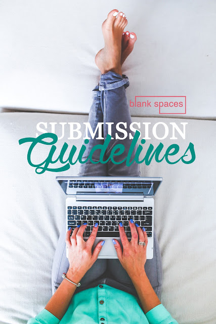 how do i submit to blank spaces magazine?