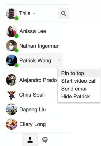 Update Hangouts di Gmail, Beritahu Penguna Yang Online