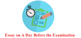 Essay on A Day Before the Examination
