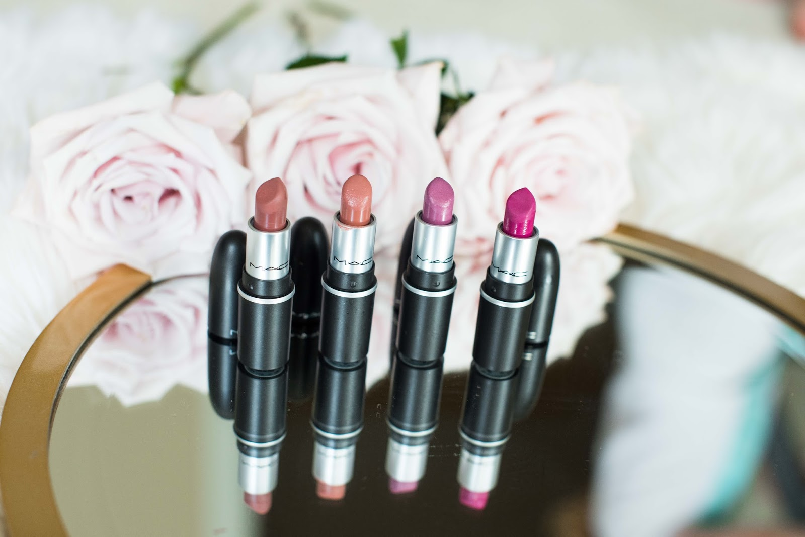 MAC Lipsticks - Click through to see more on Something Delightful Blog!
