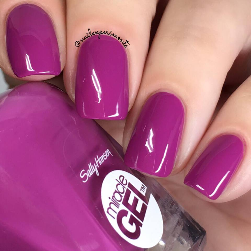 Nail Experiments Sally Hansen Miracle Gel Travel In Colour Collection Swatches And Review