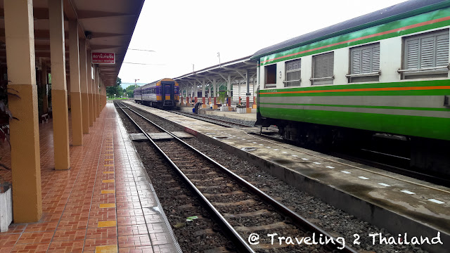 Den Chai Train Station in North Thailand
