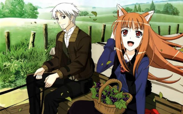 Ookami to Koushinryou (Spice and Wolf) - Daftar Anime Fantasy Terbaik Sepanjang Masa