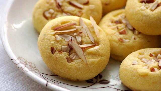 Resep Biskuit Nankhatai, Kue Lezat Khas India