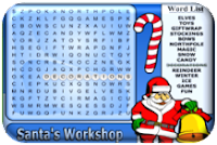 http://www.thekidzpage.com/learninggames/searchword/santaworkshop-15x15.html