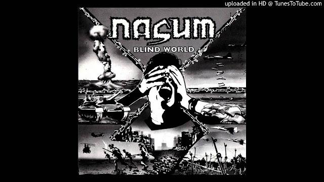 Nasum grindcore Blind World EP