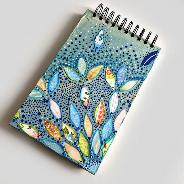 Decorated Cover by Ombretta Fusco using Spring Collection