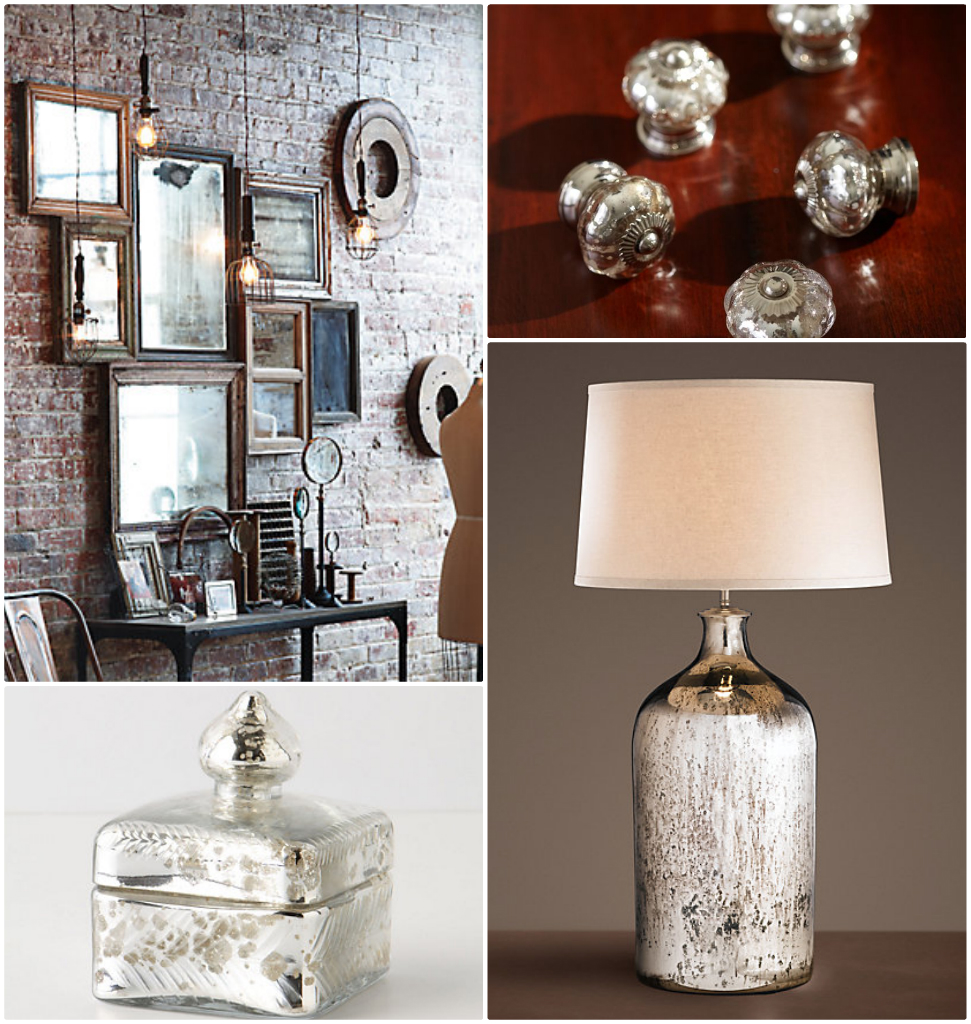 How To: DIY Antiqued Mercury Mirror Glass