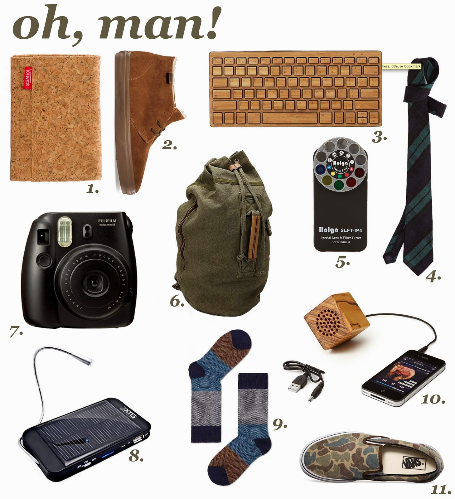 The Spinsterhood Diaries: Gift Guide: Oh, Man!