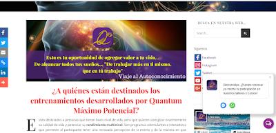 Web Quantum Máximo Potencial