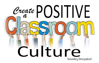 I create a positive classroom culture by building relationships with my middle school students using these 3 strategies.  #backtoschool