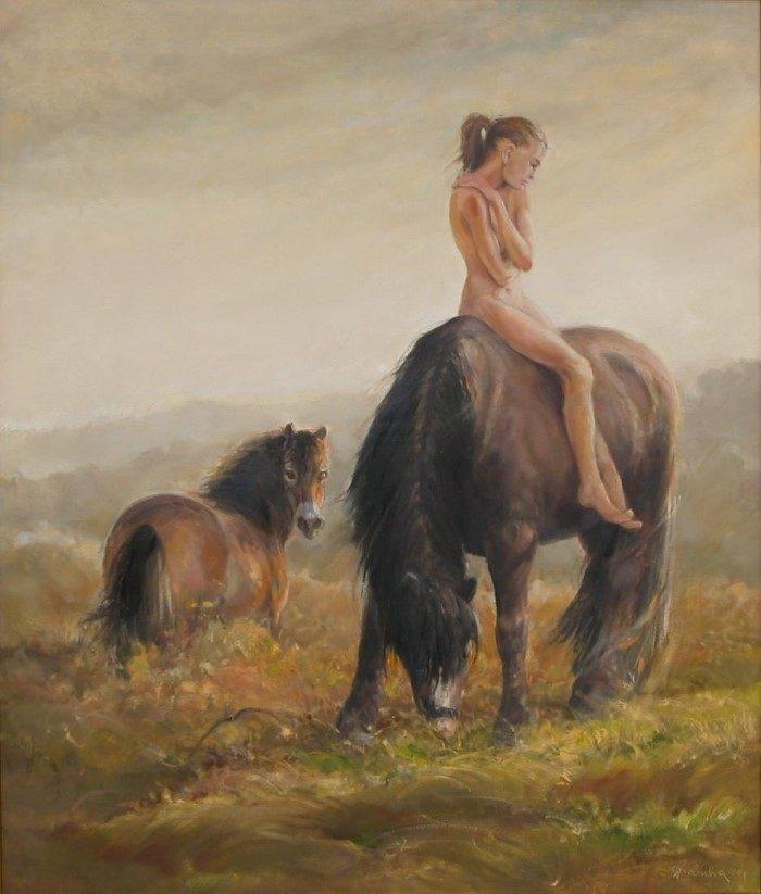 Станковая живопись пастелью и маслом. Daniel Pielucha