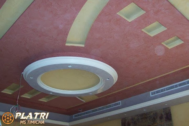 decoration de platre plafond