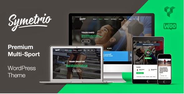 Sports Website WordPress Themes